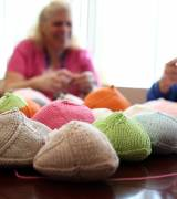 Free comfortable prosthetics are provided for breast cancer survivors by Knitted Knockers-sm