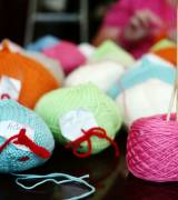 Knitted Knockers provides free hand-knit breast prosthetics for women who have experienced mastectomy.-sm